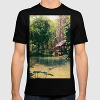 Poisson Palace Mens Fitted Tee Black SMALL