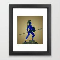 Achiles - Weakness Visio… Framed Art Print