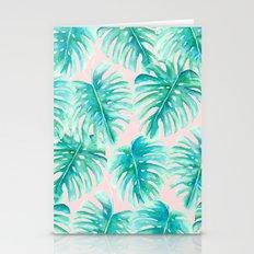 Paradise Palms Blush Stationery Cards