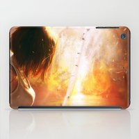A Flaming Night iPad Case