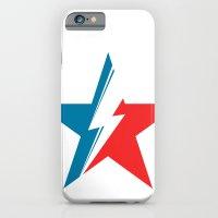 Bowie Star white iPhone 6 Slim Case