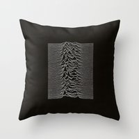 Unknown Pleasures Throw Pillow