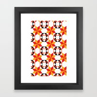 Fuego - By  SewMoni Framed Art Print