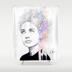 soft springtime Shower Curtain