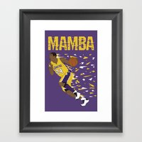Mamba Framed Art Print