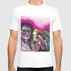 The Lost Zombie Boys White SMALL Mens Fitted Tee
