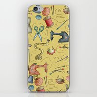 Sewing Tools iPhone & iPod Skin