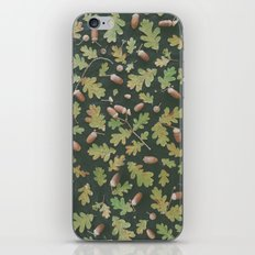 Oak pattern iPhone & iPod Skin