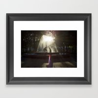 Coyoacan, Mexico City Framed Art Print