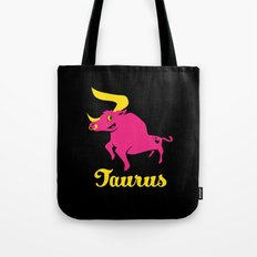 Taurus: the Bull Tote Bag