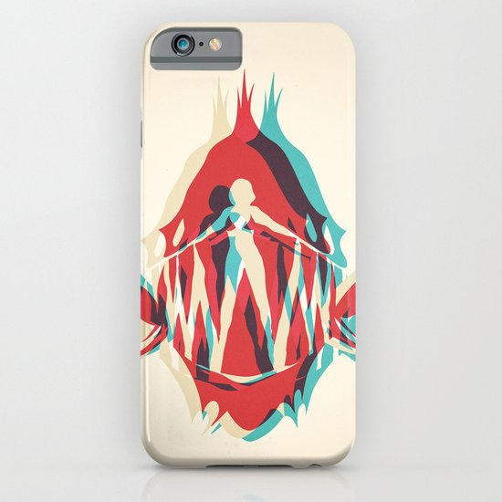 Piranha Girl iPhone & iPod Case