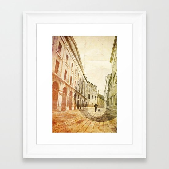 The Stroller Framed Art Print
