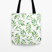 Willow -Green Tote Bag