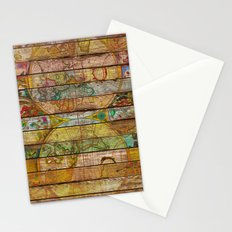 Around the World in Thirteen Maps Stationery Cards