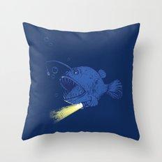 I GOT A NEW LIGHT!!!!!!!  Throw Pillow