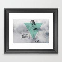 La Vida A Tientas Framed Art Print