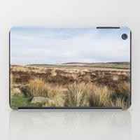 Footpath on Curbar Edge. Derbyshire, UK. iPad Case