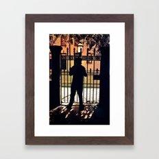 Fireside Fidelity Framed Art Print