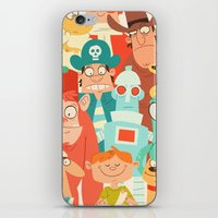 Storybook Gang iPhone & iPod Skin