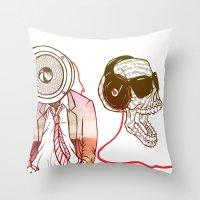 Sound Throw Pillow