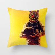 I'm From The Future Throw Pillow