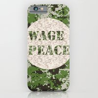 WAGE PEACE iPhone 6 Slim Case