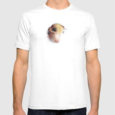 Mouse Mens Fitted Tee White SMALL