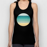 Beach,Sea & Sky - abstract Unisex Tank Top
