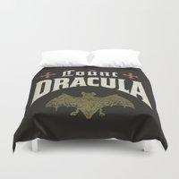 Count Dracula Duvet Cover