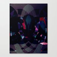 Disquiet Four Canvas Print