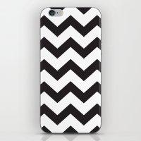 Chevron Black iPhone & iPod Skin