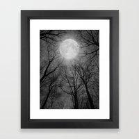 May It Be A Light (Dark Forest Moon) Framed Art Print