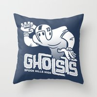 Spook Hills Gholsts Throw Pillow