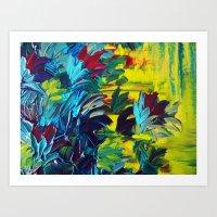 FLORA - Gorgeous Lemon L… Art Print