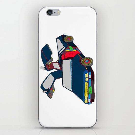 Cool Boys Like Flying Cars iPhone & iPod Skin