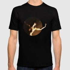 Dusk of Hallows SMALL Black Mens Fitted Tee