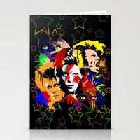 Bowie PopArt Metamorphos… Stationery Cards