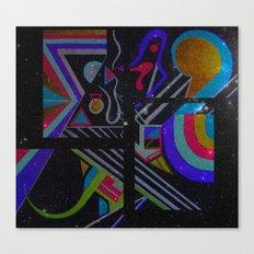 Pastel Series Nebulae Canvas Print