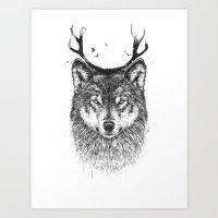 I'm Your Deer Art Print