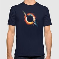 Void Mens Fitted Tee Navy SMALL