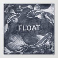 Float On Canvas Print