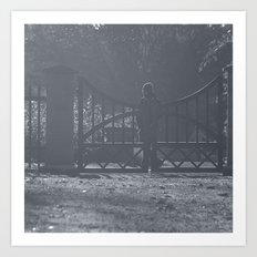 Guarding the gate Art Print