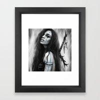 Death's Tireless Whisper… Framed Art Print