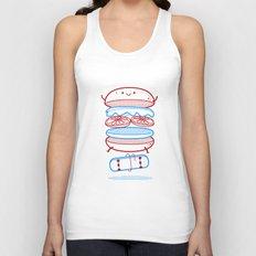 Street burger  Unisex Tank Top