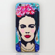 Frida Kahlo by Paola Gonzalez iPhone & iPod Skin