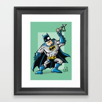 Another Strong Man In A … Framed Art Print