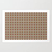 Tiles.01 Art Print