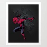 The Amazing Spider-Man: … Art Print