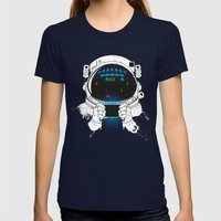 Gamernauts Womens Fitted Tee Navy SMALL