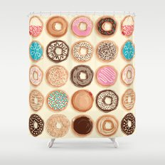Doughnuts Shower Curtain
